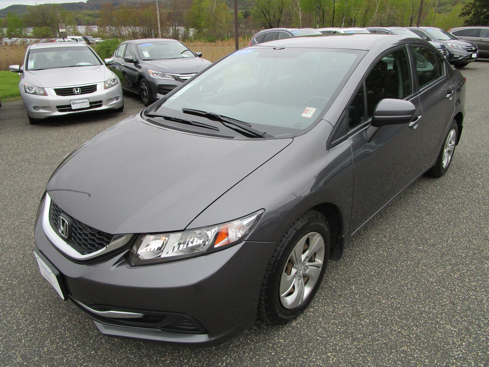 Certified Pre-Owned 2014 Honda Civic Sedan LX