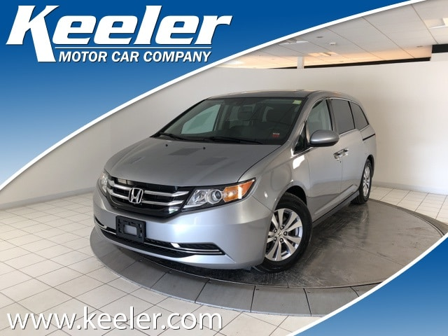 Certified Pre-Owned 2016 Honda Odyssey EX-L w/Rear Entertainment System